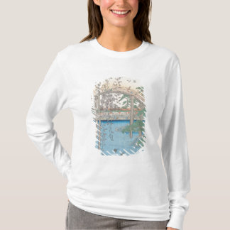 T-shirt Le pont avec des glycines ou Kameido Tenjin