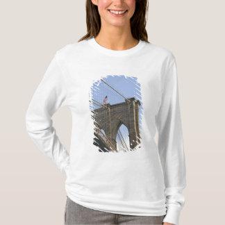 T-shirt Le pont de Brooklyn à New York City, nouveau