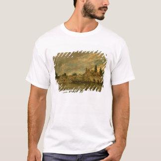 T-shirt Le pont de Harnham et de cathédrale de Salisbury
