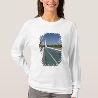 T-shirt Le pont en cadran solaire à la baie de tortue