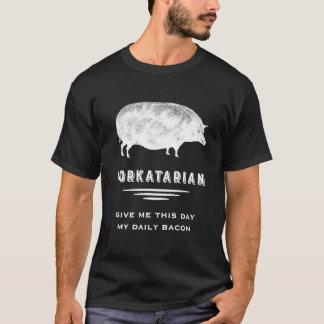 T-shirt Le porc vintage du grand gros amant de porc