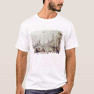 T-shirt Le port antique d'Anvers