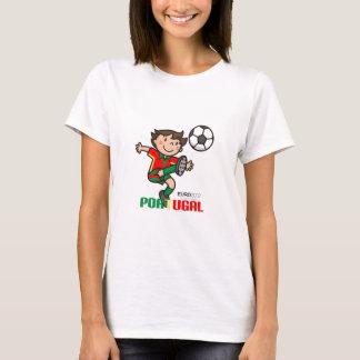 T-shirt Le Portugal - euro 2012