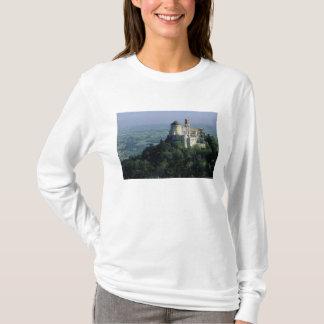 T-shirt Le Portugal, Sintra, palais de Pena, placé sur