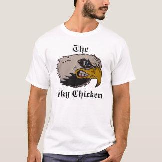 T-shirt Le poulet de ciel