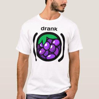 T-shirt Le pourpre a bu