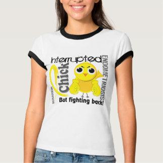 T-shirt Le poussin a interrompu l'endométriose 3