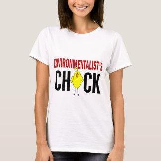 T-shirt Le poussin de l'écologiste