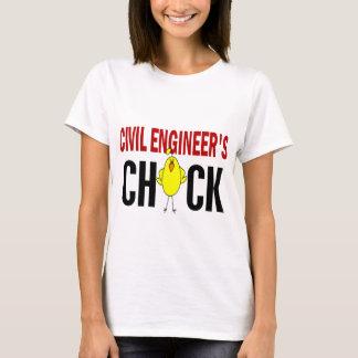 T-shirt Le poussin de l'ingénieur civil