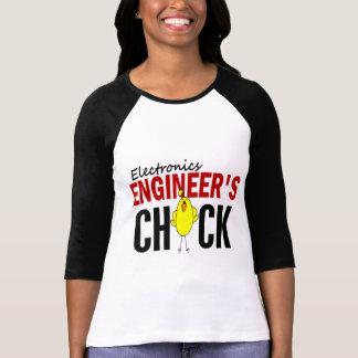 T-shirt Le poussin de l'ingénieur électronicien
