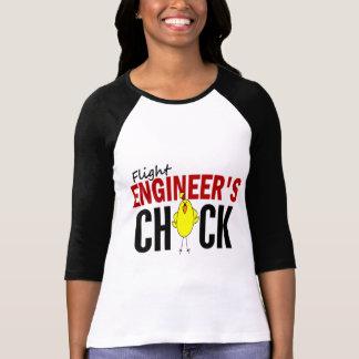 T-shirt Le poussin d'ingénieur de vol