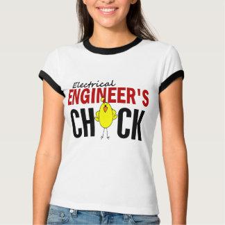 T-shirt Le poussin d'ingénieur électrique