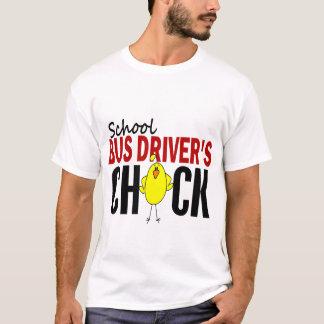 T-shirt Le poussin du chauffeur d'autobus scolaire