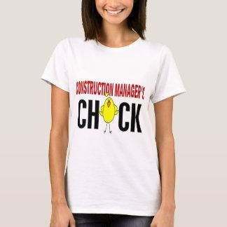 T-shirt Le poussin du directeur de construction