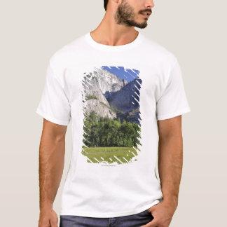 T-shirt Le pré du cuisinier et le Yosemite Falls, Yosemite