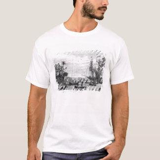 T-shirt Le premier atterrissage de Columbus chez