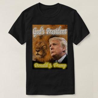 T-shirt Le président de Dieu