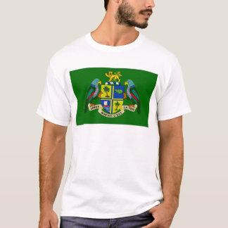 T-shirt Le Président Flag de la Dominique