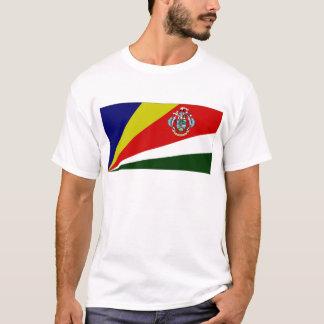 T-shirt Le Président Flag des Seychelles