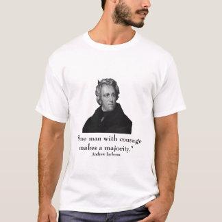 T-shirt Le Président Jackson et citation