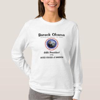 T-shirt Le Président Obama - chemise de Long-douille de