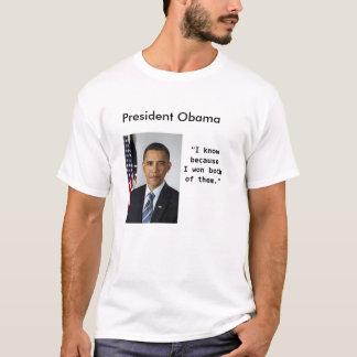 T-shirt Le Président Obama Quotes