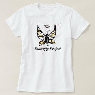 T-shirt Le projet de papillon