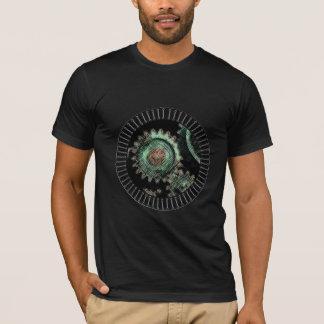 T-shirt Le punk de vapeur butten la chemise de trou