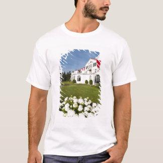 T-shirt Le Québec, Canada. Hôtel historique Tadoussac, 3