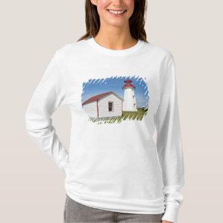T-shirt Le Québec, Canada. Phare de D'Espoir de casquette