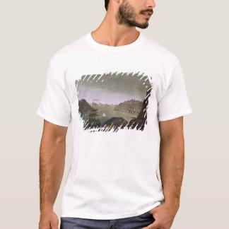 T-shirt Le Québec et le St Lawrence River, plaquent 4 de