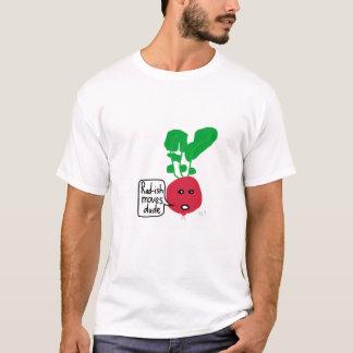 T-shirt Le radis déplace la chemise