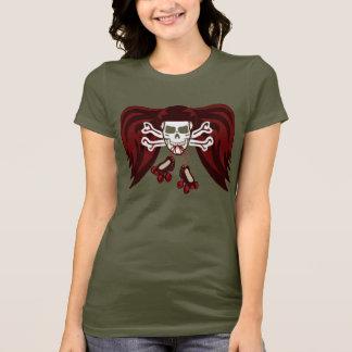 T-shirt Le raie ou meurent avec des ailes d'ange
