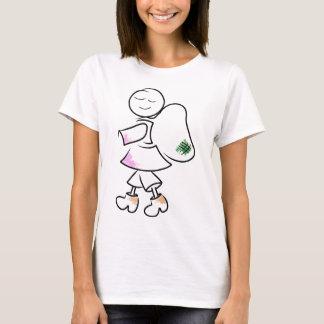 T-shirt Le randonneur d'Angela