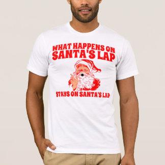 T-shirt Le recouvrement de Père Noël