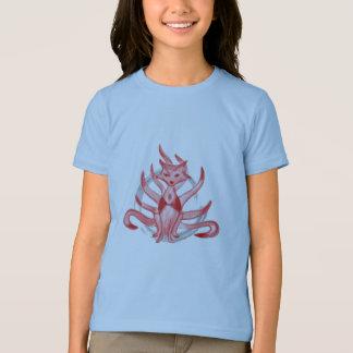 T-shirt Le renard avec neuf queues