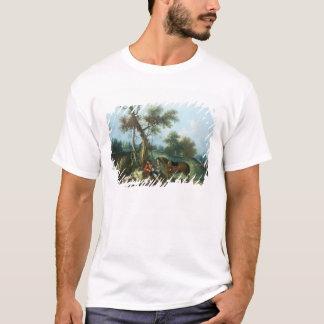 T-shirt Le repos du chasseur, XVIIIème siècle