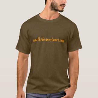 T-shirt Le réseau d'haricot - chemise du site Web des