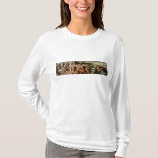 T-shirt Le retour d'Ulysse, panneau de cassone, Sienese