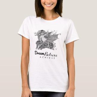 T-shirt Le rêve de la fille | de batte de tatou croient