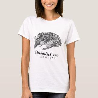 T-shirt Le rêve de la maman | de dragon croient réalisent