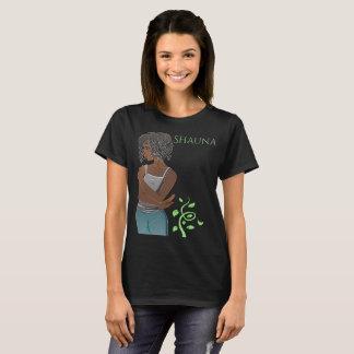 T-shirt Le réveil : La pièce en t des femmes de Shauna