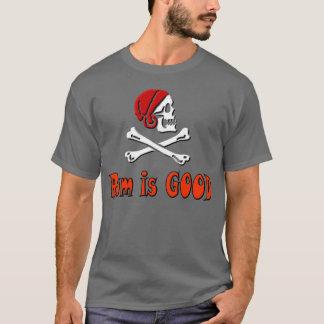 T-shirt Le rhum est BON SXBones