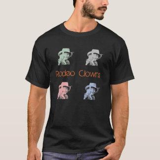 T-shirt Le rodéo fait le clown pièce en t de base