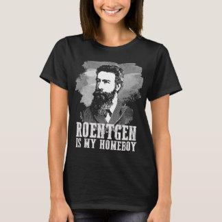 T-shirt Le roentgen est mon Homeboy