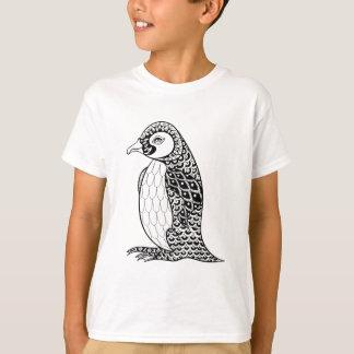 T-shirt Le Roi artistique pingouin Zendoodle
