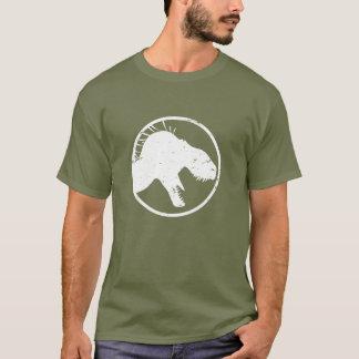 T-shirt Le roi du tyran des hommes a affligé la chemise,