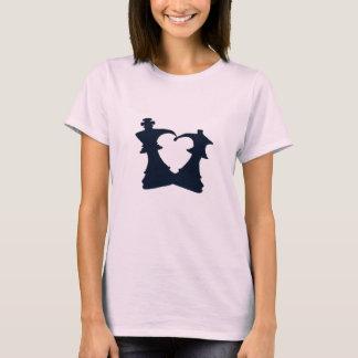 T-shirt Le roi et la reine sont dans l'amour