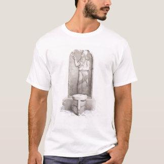 T-shirt Le roi et l'autel sacrificatoire, Nimrud, plaquent