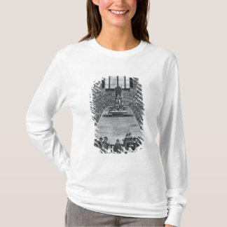 T-shirt Le Roi James I dans les Chambres du Parlement,